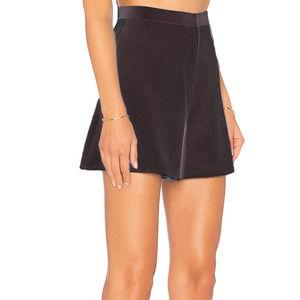 Blaque Label Long High Waist Dress Shorts Size XS